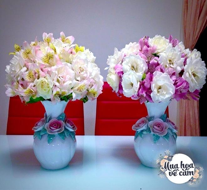 Mẹ Việt biến nhà rực sắc đón ngày 8/3, khoe muôn kiểu cắm hoa đẹp rụng rời - 23
