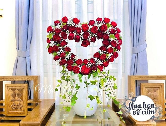 Mẹ Việt biến nhà rực sắc đón ngày 8/3, khoe muôn kiểu cắm hoa đẹp rụng rời - 13