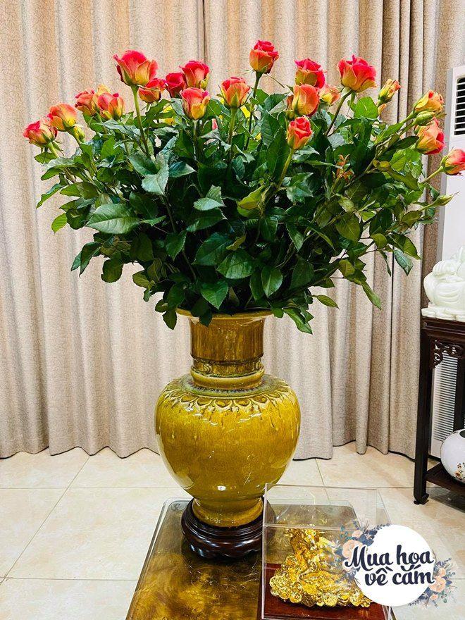 Mẹ Việt biến nhà rực sắc đón ngày 8/3, khoe muôn kiểu cắm hoa đẹp rụng rời - 18