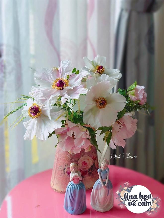Mẹ Việt biến nhà rực sắc đón ngày 8/3, khoe muôn kiểu cắm hoa đẹp rụng rời - 17