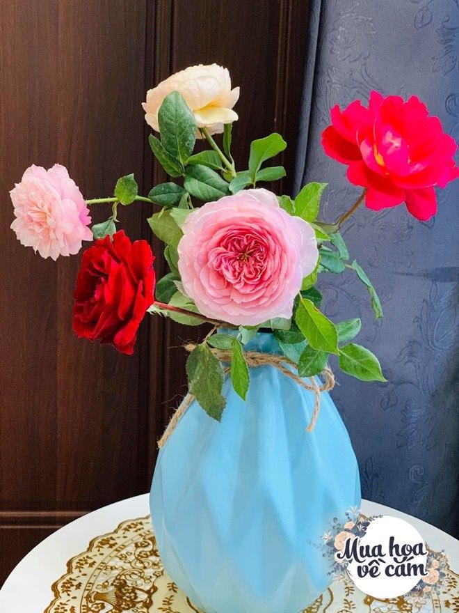 Mẹ Việt biến nhà rực sắc đón ngày 8/3, khoe muôn kiểu cắm hoa đẹp rụng rời - 7