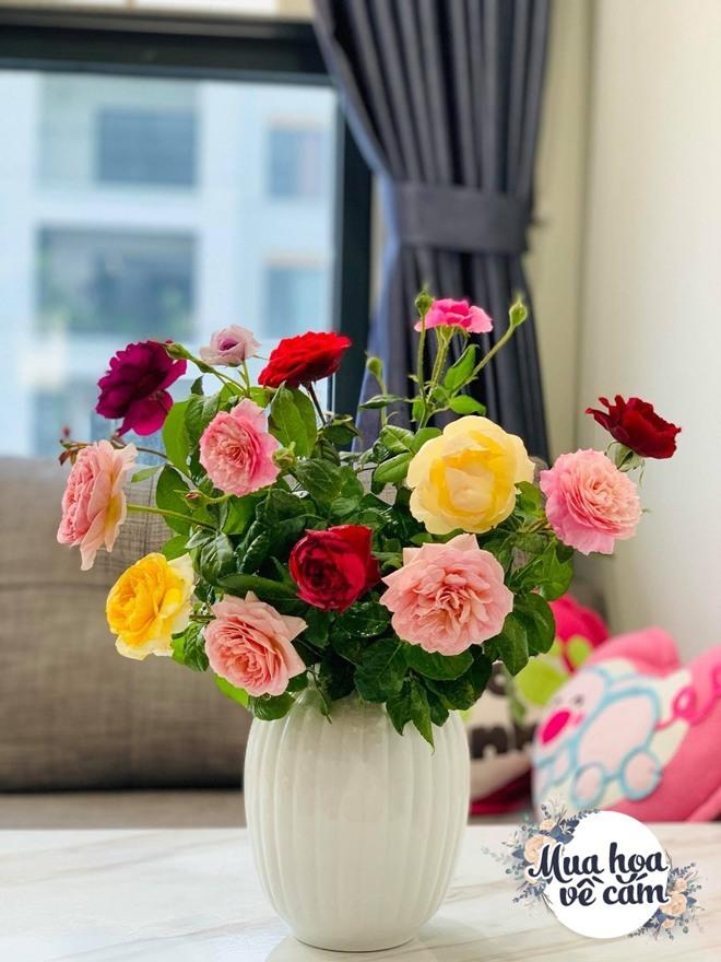 Mẹ Việt biến nhà rực sắc đón ngày 8/3, khoe muôn kiểu cắm hoa đẹp rụng rời - 6