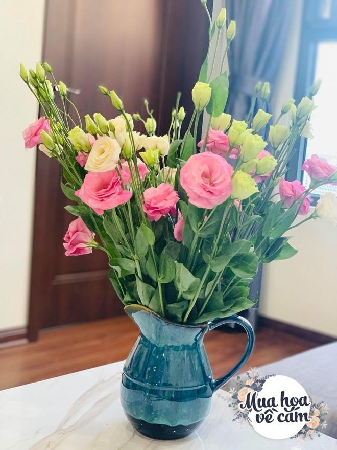 Mẹ Việt biến nhà rực sắc đón ngày 8/3, khoe muôn kiểu cắm hoa đẹp rụng rời - 8