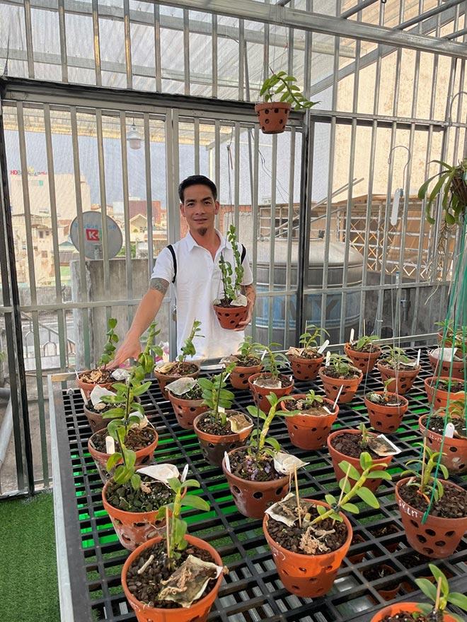 Đào Ngọc Tuân không ngại chia sẻ kỹ thuật trồng và chăm sóc cây hoa lan - 3