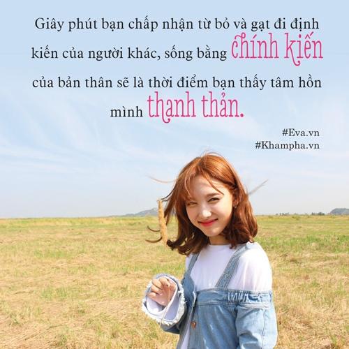"hay cu la chinh minh, ""mac ke thien ha, song nhu nguoi nhat"" - 5"
