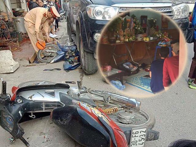 Vụ xe điên gây tai nạn liên hoàn ở Hà Nội: Mẹ nằm viện vẫn chưa biết con qua đời