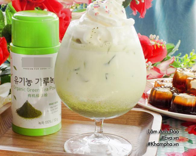 Cách làm trà sữa matcha thơm ngon mát lạnh, chuẩn vị         thử thách nắng hè