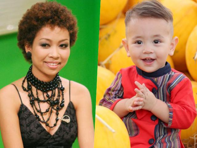 Mẹ đơn thân Thảo Trang xấu lạ nhưng con trai lai Tây lại đẹp hơn thiên thần