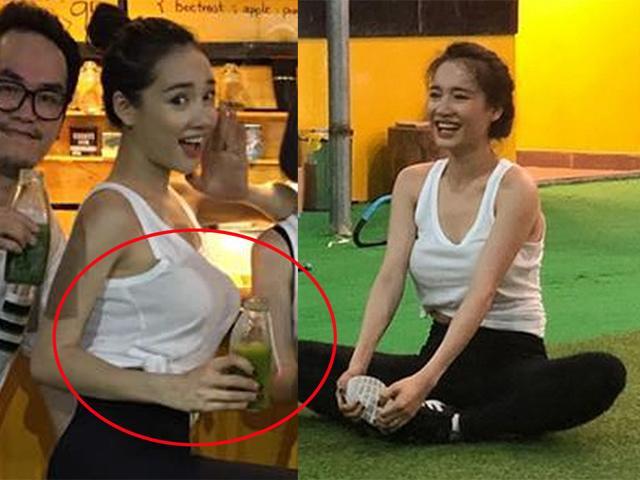 Nhã Phương đăng ảnh chăm chỉ tập gym, dân mạng chỉ tập trung vào vòng 1 khủng của cô - 3