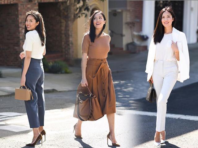 Vừa thanh lịch lại vừa cực trendy, đó là khi nàng công sở tìm tới 4 mẫu trang phục này