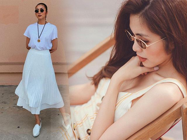 Mùa hè nóng nực quá nhìn gu thời trang của ngọc nữ Tăng Thanh Hà mà mát cả lòng