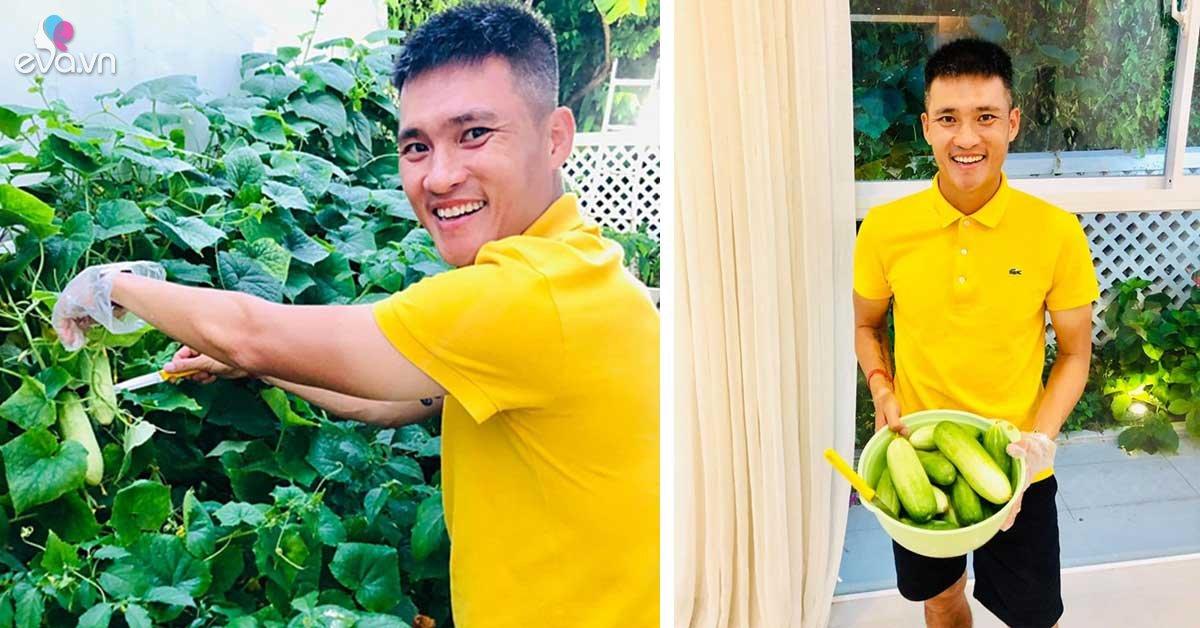 Sao Việt 24h: Fan ngã ngửa khi Công Vinh rao bán dưa chuột nhà trồng với giá… trên trời!