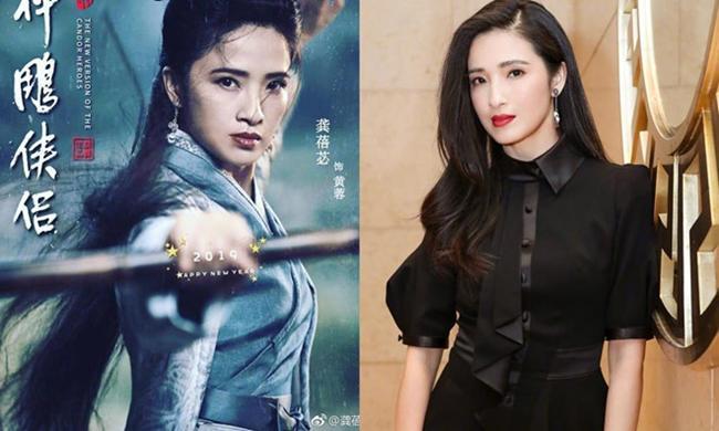 """khuon mat khong can xung, tieu long nu bi ly mac sau """"lan at"""" trong than dieu dai hiep 2019 - 12"""