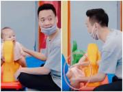 Con trai Xuân Bắc nức nở khóc: