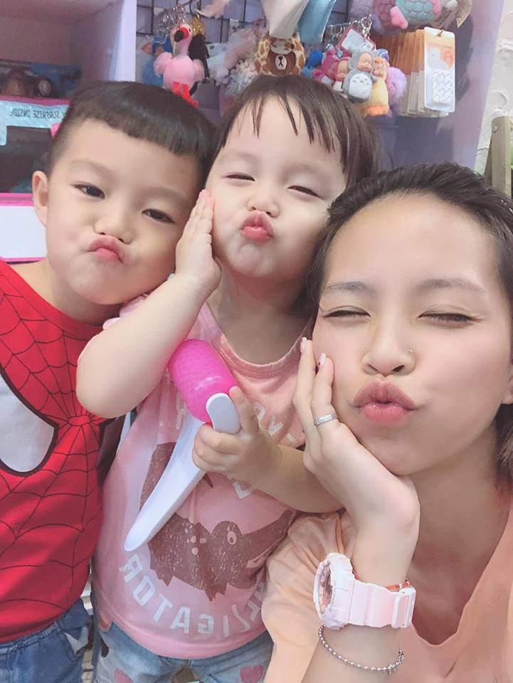 hotgirl bim sua lo nguc tran cho con bu noi cong cong hut 7 nghin nguoi bam like - 8