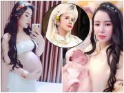 Cuộc sống của Á hậu làm mẹ đơn thân, chia tay bạn trai khi đang mang bầu 5 tháng