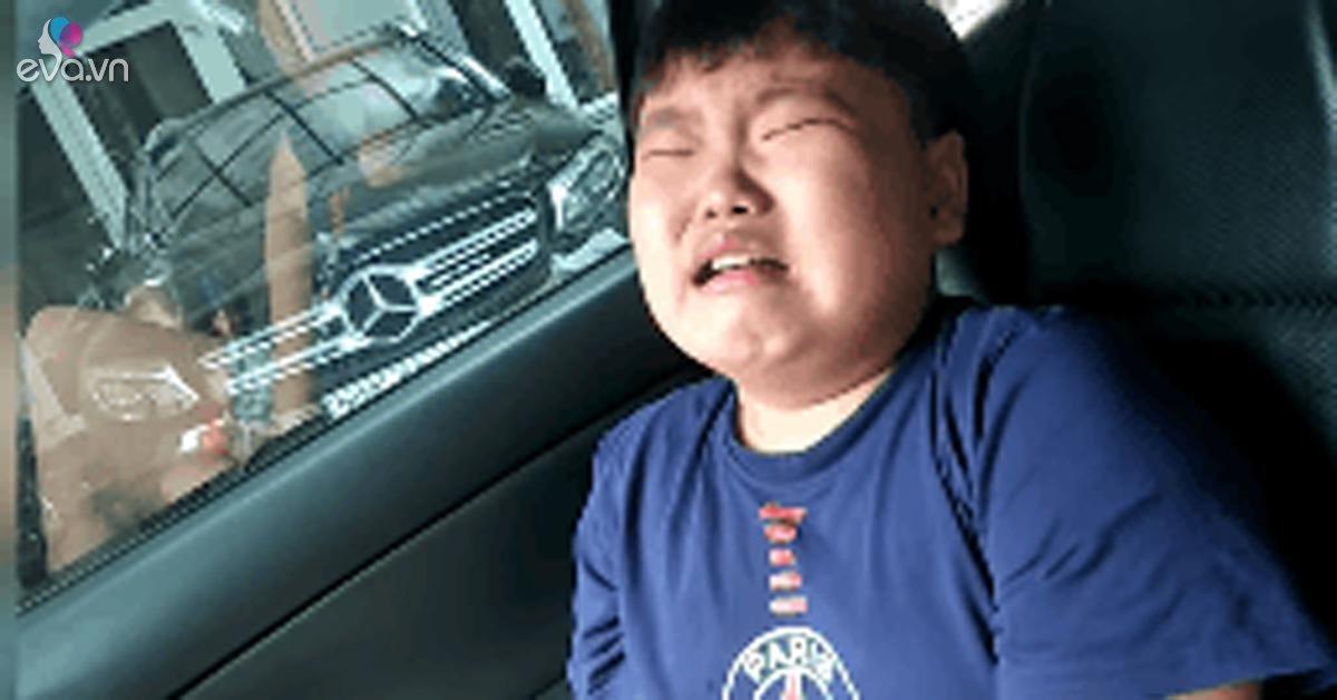 Con trai Xuân Bắc nức nở khóc: Bố có phải là chồng của vợ con đâu