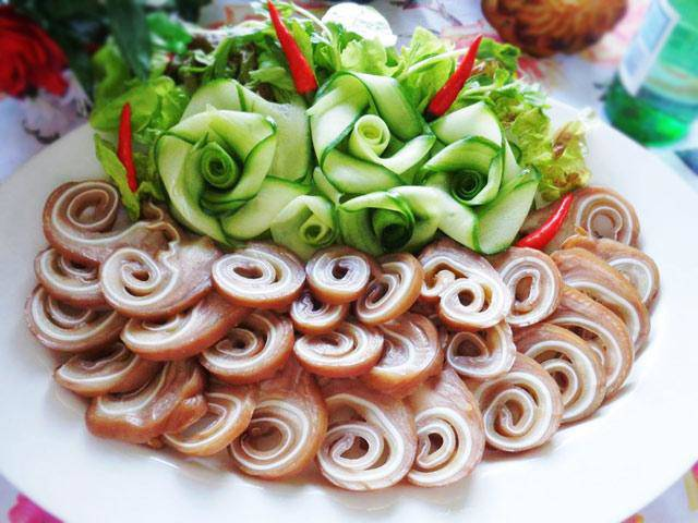 cuoi tuan tuong lam right 5 mon tuoi delicious, this mat who no one play tu - 1