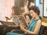 Quỳnh Anh Beauty rạng rỡ làm giám khảo cuộc thi Hoa hậu cùng MC Phan Anh và Võ Hoàng Yến