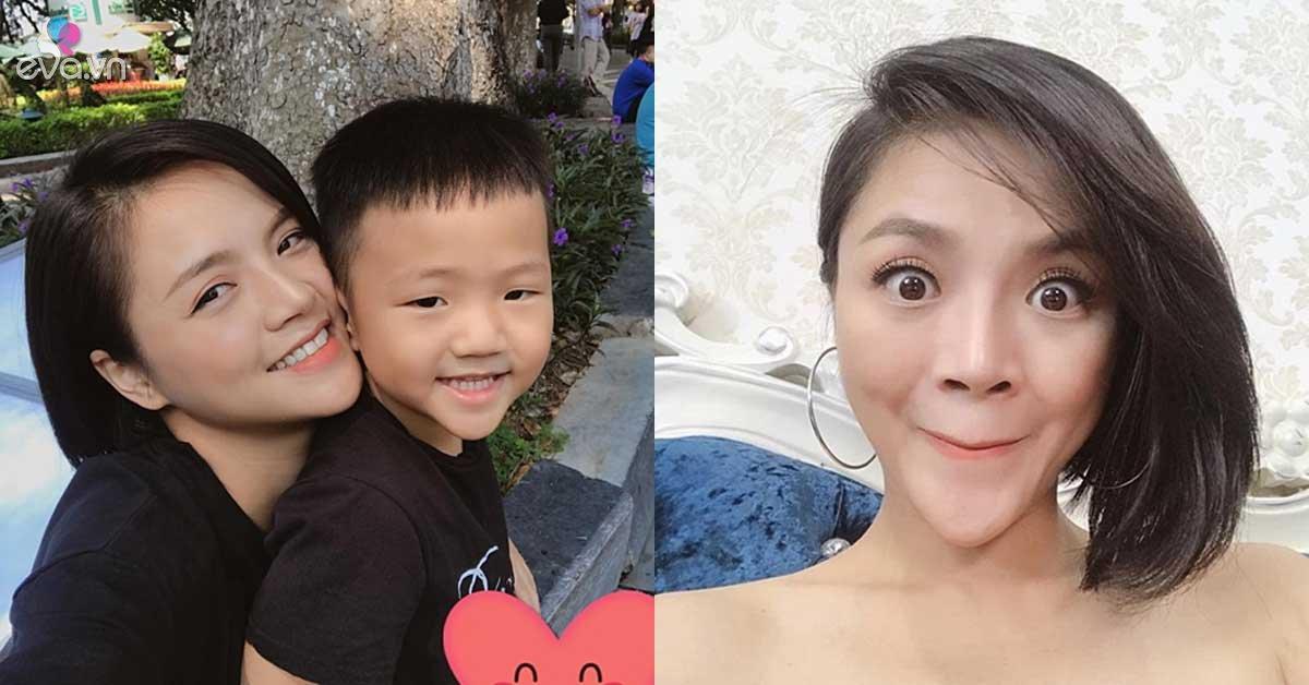 Sao Việt 24h: Bằng 1 bức ảnh bên con trai, Thu Quỳnh đập tan tin đồn làm cằm nhọn hoắt