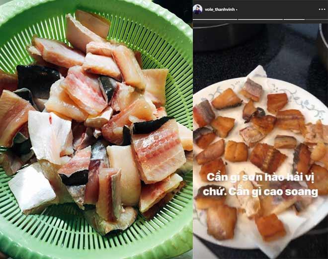 Hoài Linh giấu kỹ bọc thức ăn giữa bàn tiệc toàn vi cá, tôm hùm, bên trong là món tủ - 12