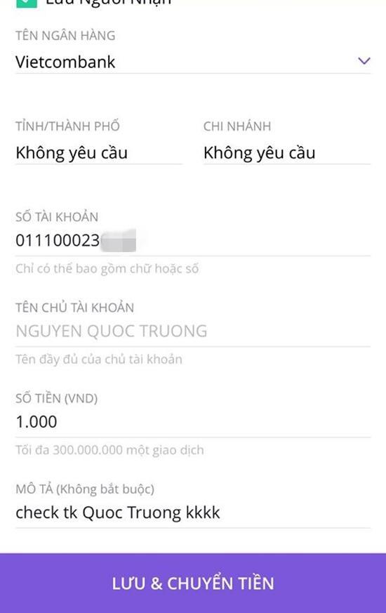 """lo tai khoan 500 trieu that cua """"so khanh"""" ve nha di con, cu dan mang thi nhau chuyen tien - 2"""