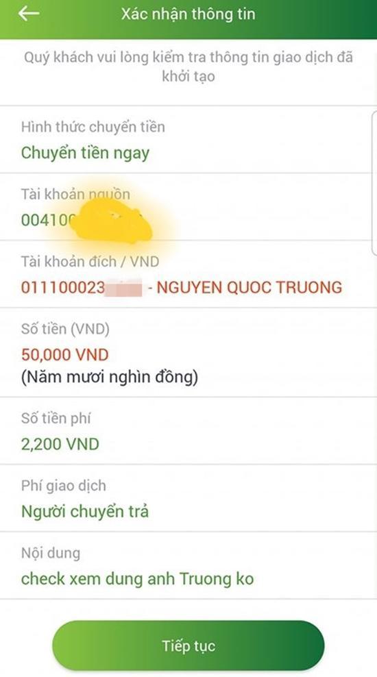 """lo tai khoan 500 trieu that cua """"so khanh"""" ve nha di con, cu dan mang thi nhau chuyen tien - 3"""