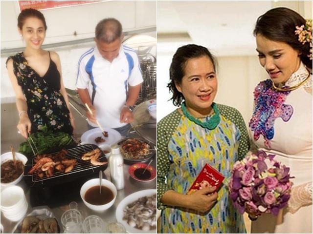 Sao Việt được bố mẹ chồng chiều cả miếng ăn: Lâm Khánh Chi chưa số hưởng bằng người thứ 3?