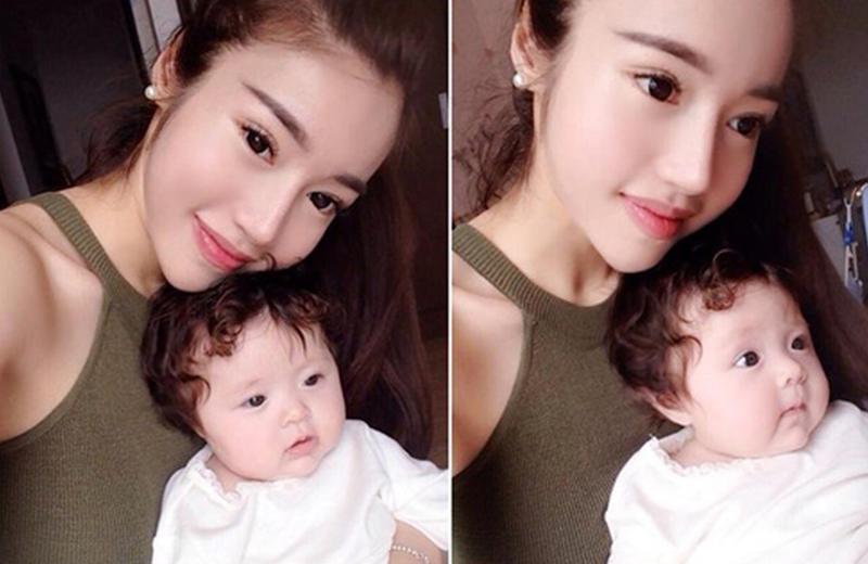 Hơn một năm sau ngày con gái ra đời, Elly Trần sinh con trai thứ hai Alfie Túc Mạch và tiếp tục giấu nhẹm chuyện bầu bí.