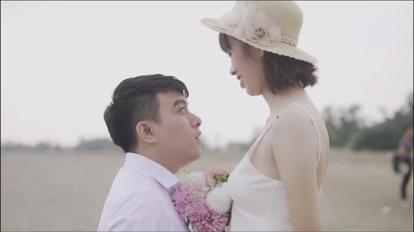 "chuyen tinh chang 1m50, nang 1m70 va bo anh cuoi khien nhiep anh ""dau dau"" - 1"