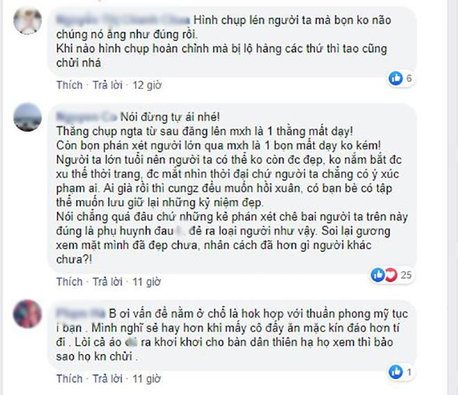 "dan mang lao vao ""khau nghiep"" nhom phu nu trung nien dien ao yem chup sen nhung su that la... - 3"