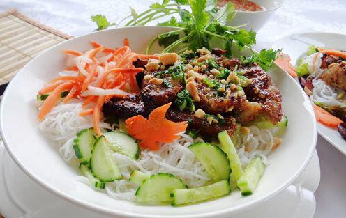 bun thit nuong ngon voi cach lam don gian thit thom ngon - 1