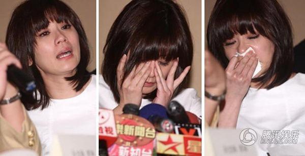 "lan dau sau 9 nam ly hon, ""trieu man dep nhat cbiz"" gap chong ""ac thu"" tung bat coc con - 1"