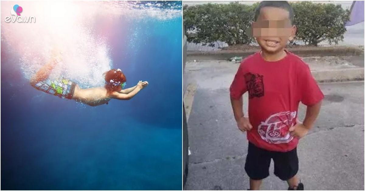 Cậu bé tử vong sau 1 tuần đi biển, cẩn thận với dấu hiệu này ở trẻ sau khi bơi