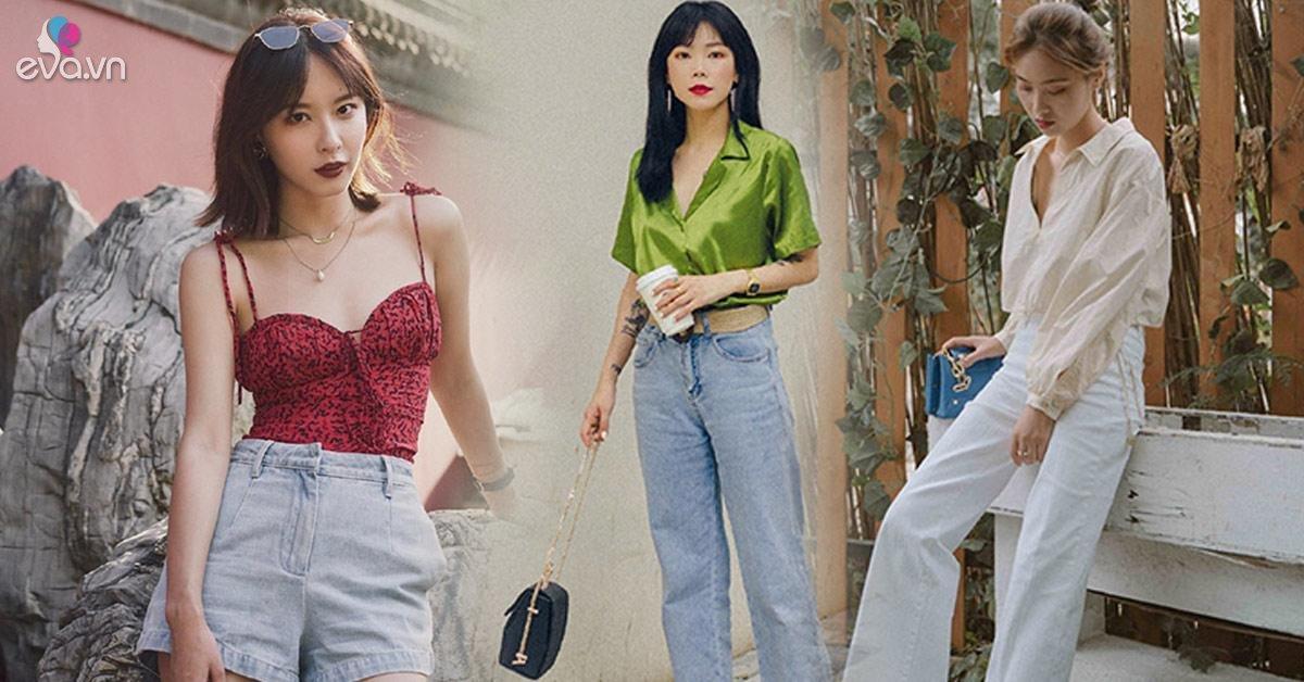 Muốn diện quần jeans trong mùa hè nóng nực, chị em tốt nhất đừng quên 4 mẫu mát mẻ này