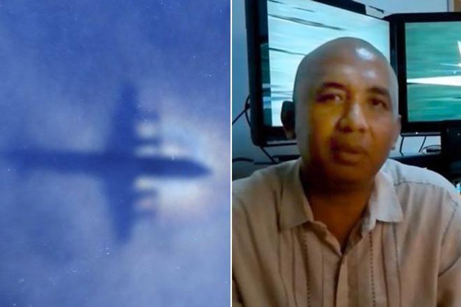 """bi mat mh370: co truong """"cam sung"""" vo, dam may bay tu sat - 1"""