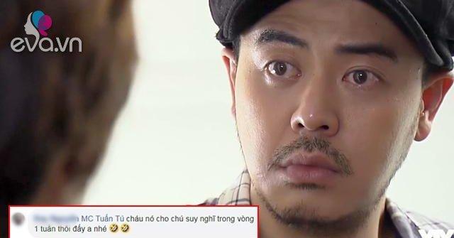 Bị cháu Dương tỏ tình trong Về Nhà Đi Con, MC Tuấn Tú đòi... trốn ra khách sạn cả tháng