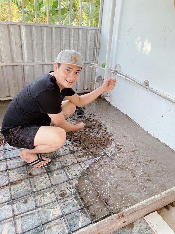 Showbiz đóng băng, Minh Luân bỏ phố về quê cải tạo nhà vườn rộng 3.000m2 - 5
