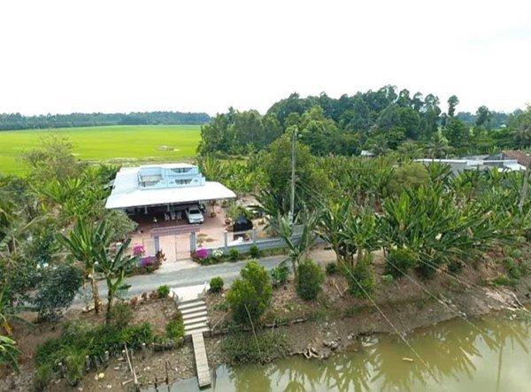 Showbiz đóng băng, Minh Luân bỏ phố về quê cải tạo nhà vườn rộng 3.000m2 - 7