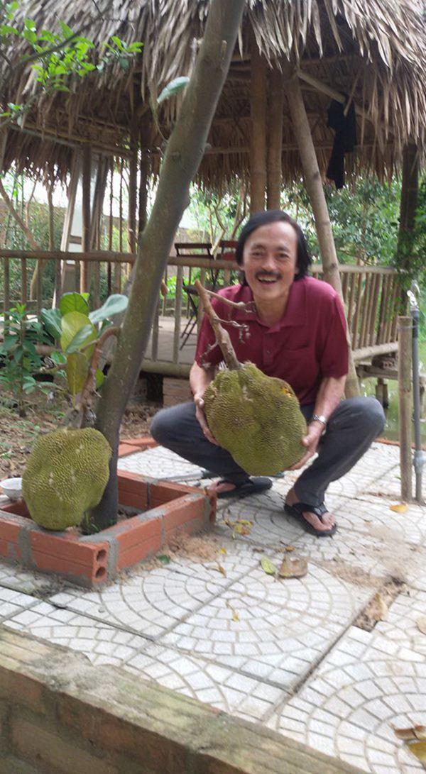 Nghệ sĩ Giang Còi về quê ở nhà vườn 10.000m2 ngập rau trái, sáng ra hái mang đi cho - Ảnh 5.