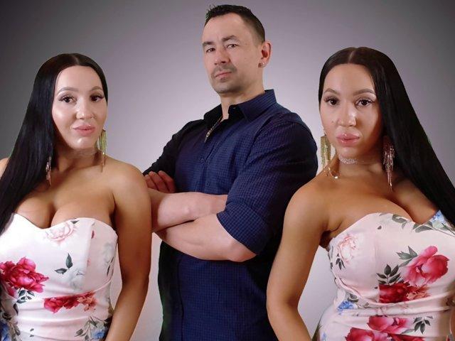 Chị em sinh đôi ngủ chung với một người đàn ông, quyết cùng có thai để con chung bố