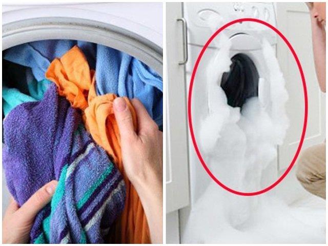 Những sai lầm khi dùng khiến máy giặt ngốn điện hơn cả điều hòa