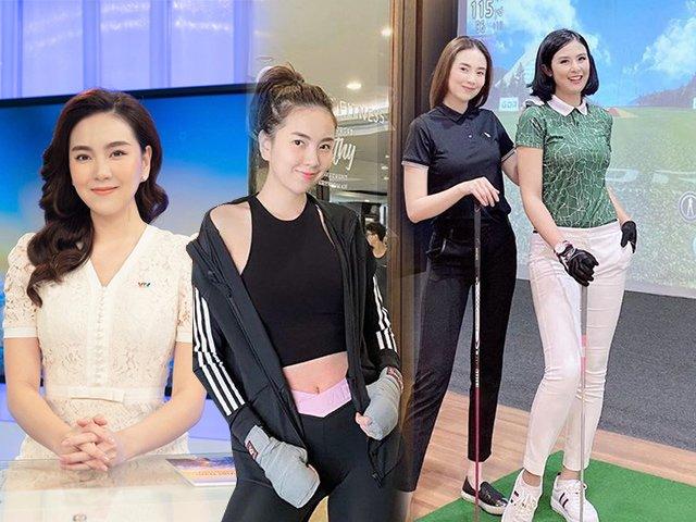 Đọ dáng bên Hoa hậu Ngọc Hân, BTV Mai Ngọc trông cũng chẳng kém cạnh phần nào