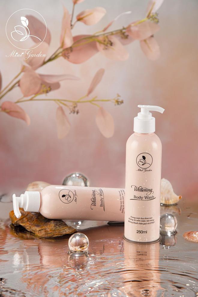 Bí quyết giúp các nàng thêm quyến rũ nhờ sữa tắm Mini Garden Whitening Body Wash