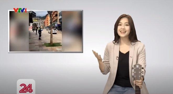 """Nữ MC VTV đang được dân mạng """"truy lùng"""" vì đẹp ngang Hoa hậu - ảnh 2"""