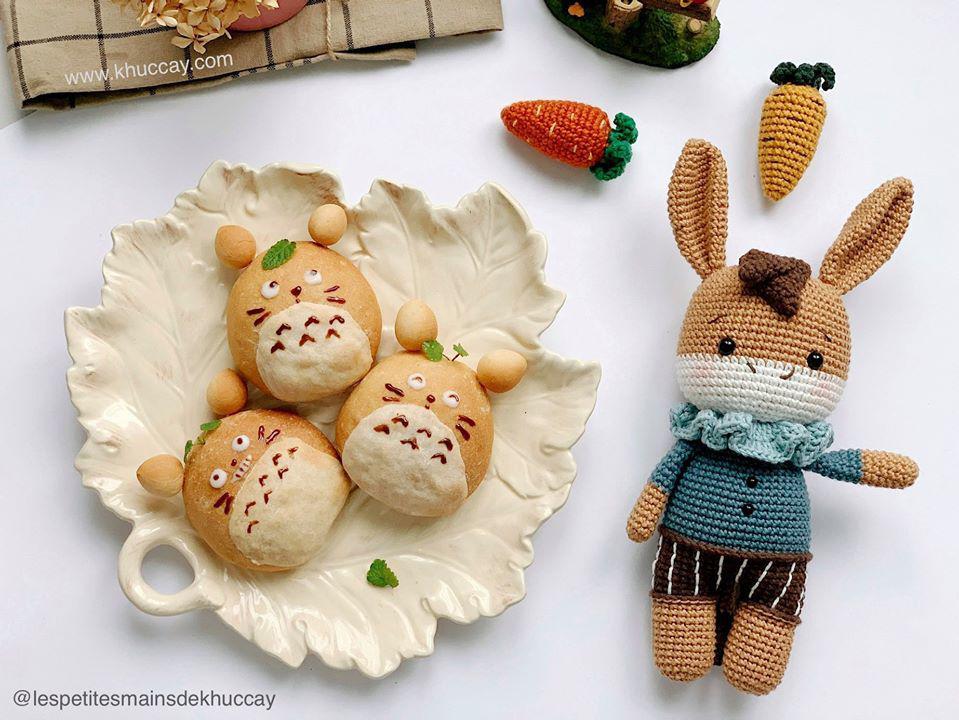 9X mách cách làm bánh mì mèo Totoro siêu xinh, bé lười ăn mấy cũng thích mê - 1