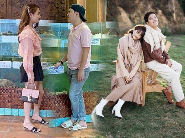 Bắt bài phong cách Trường Giang - Nhã Phương khi chung đôi: chồng mang dép lê, vợ diện túi hiệu