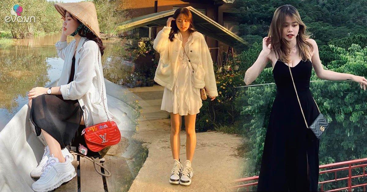 Diện đồ giản đơn nhưng bóng hồng tin đồncủa Quang Hải mới 21 tuổi đã sở hữu nhiều đồ hiệu