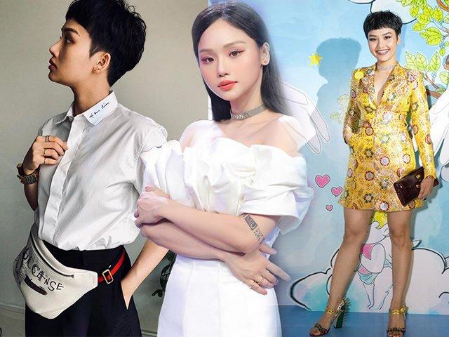 Hậu giảm cân, Miu Lê đổi luôn phong cách, từ tomboy hoá mỹ nhân mong manh, gợi cảm
