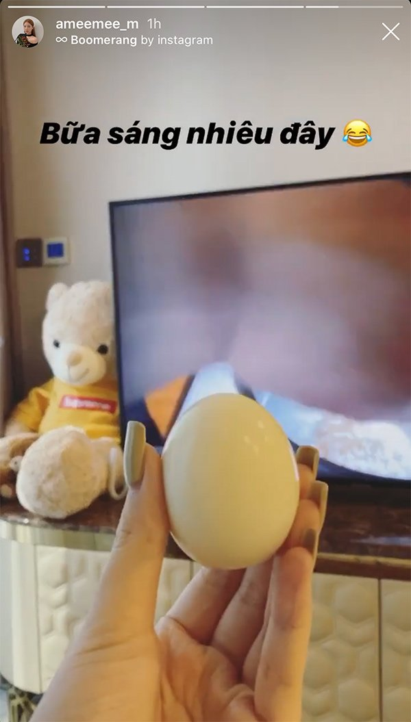 Amee ăn sáng với 1 quả trứng luộc, không phải ai cũng theo được cách giảm cân thần tốc này - 3